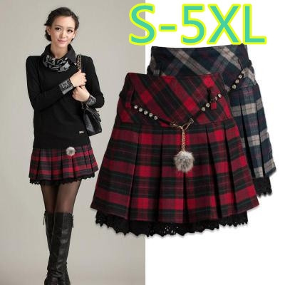 scotlandskirt, Mini, Shorts, Pleated