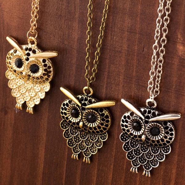 Antique, Owl, Fashion, Chain