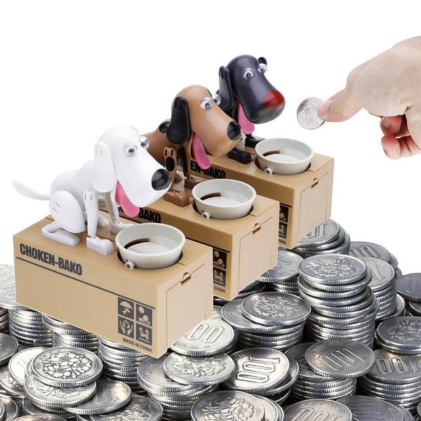 Box, moneyboxe, Decor, piggybank