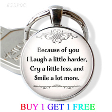 friendgift, life quotes, bestfriend, quotekeychain
