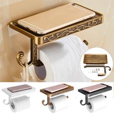 toiletpaperholder, bathroompaperhoder, phone holder, Shelf