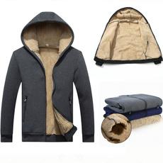 mensherpajacket, menssherpalinedhoodie, Fleece, Hoodie Sweater
