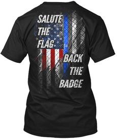 badgetshirt, Fashion, Shirt, salutetheflagshirt