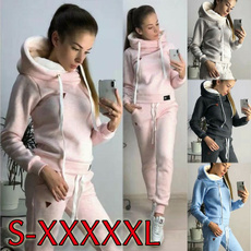 fashion tracksuit, Plus Size, suits for women, Sleeve
