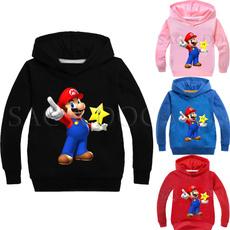 childrenshoodie, Рукав, mariosweatshirtskid, Mario