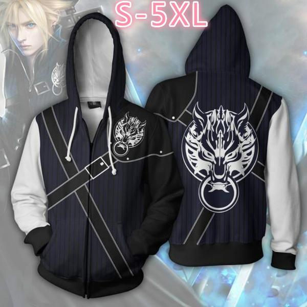 3D hoodies, Fashion, Cosplay, Coat