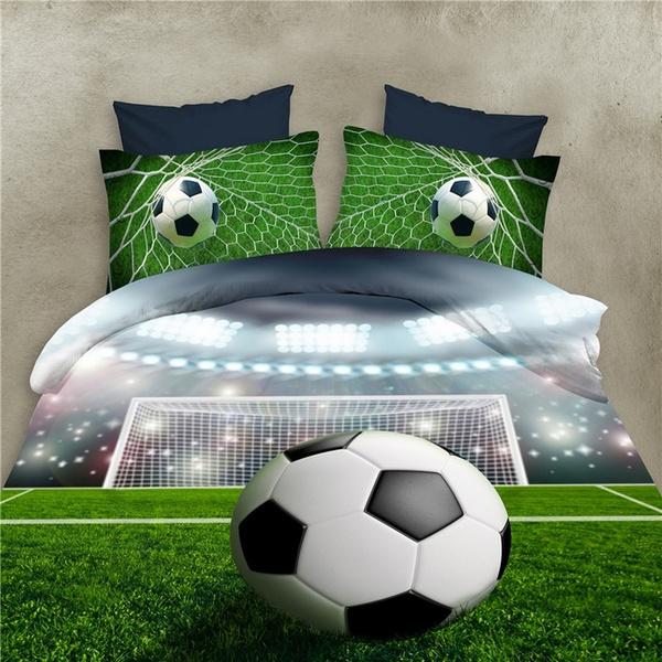 Football, Bedding, Home textile, Cover