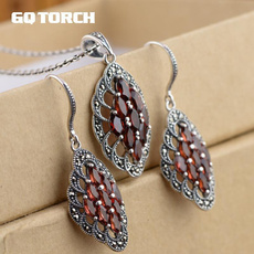 Sterling, Natural, Jewelry, for
