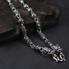 Sterling, Vintage, Fashion, Chain
