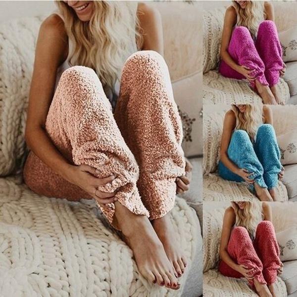 Fleece, trousers, fur, Winter