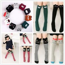 cartoonsock, Cotton Socks, Cotton, kneehighsock