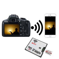 slrcamera, wificfadapter, gadget, canon