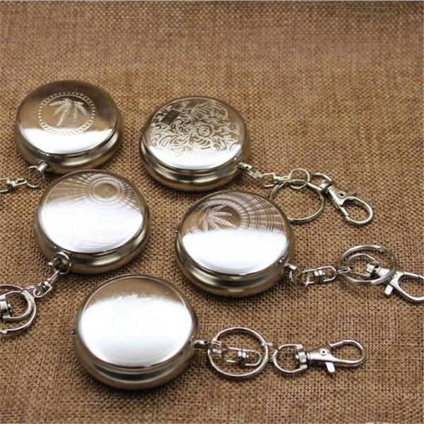 Steel, ashtraykeychain, Key Chain, portable