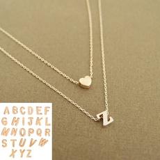 Heart, Fashion, punk necklace, Jewelry