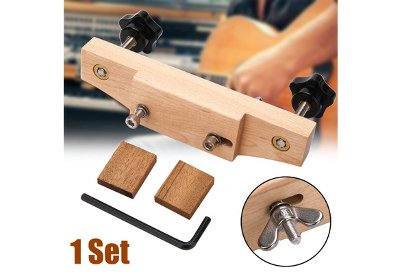 Neue Akustikgitarren Maple Bridge Clamp Luthier Tools