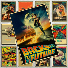 classicmovie, Vintage, backtothefuture, movieposter