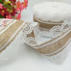 laceribbonroll, craftscrapbooking, Lace, burlaphessian