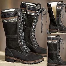 Shoes, wintershoesforwomen, Lace, snowprint