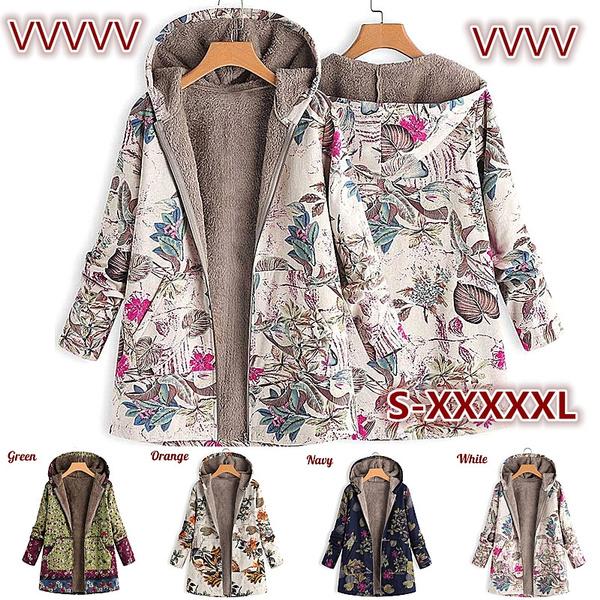 Plus Size, Long Sleeve, fluffy, Fleece
