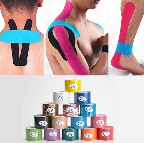 knee, therapeutictape, musclescareelasticphysio, kinesiologytape