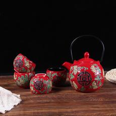 redteapot, Chinese, Wedding Supplies, Tea