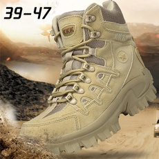 ankle boots, Outdoor, Zip, Combat