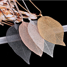 Silver Jewelry, Fashion, leaf, Skeleton