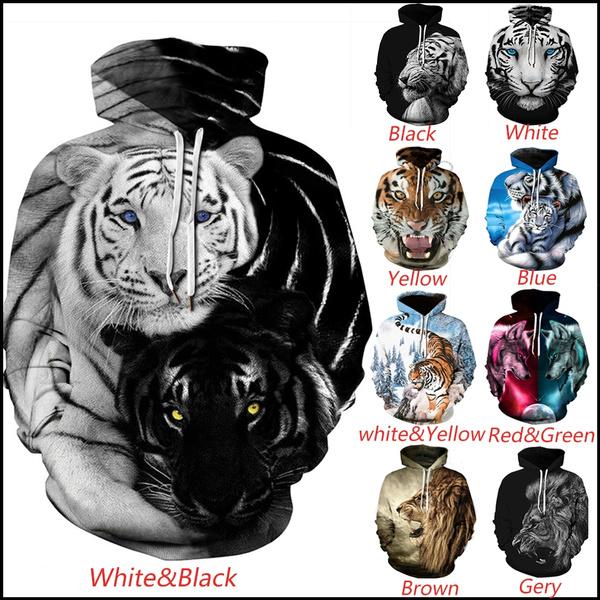 women pullover, 3D hoodies, Fashion, Animal