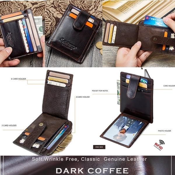 leather wallet, slim, idholder, Wallet
