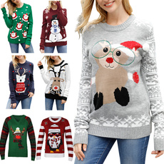 crewneck sweater, Funny, Fashion, Christmas