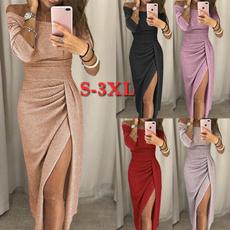 slim dress, Fashion, Sleeve, Long Sleeve