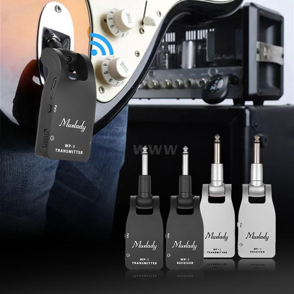 Bass, guitarmapleneck, Battery, rechargeabletransmitterreceiver