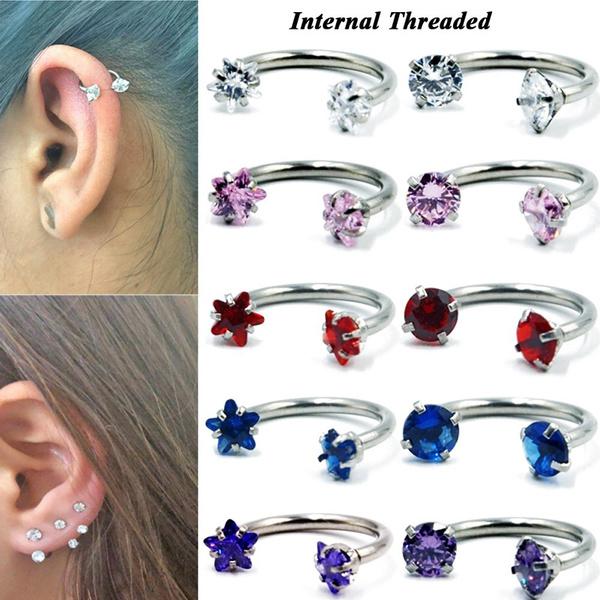 horseshoeearring, Steel, Hoop Earring, Jewelry