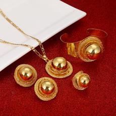 Bracelet, Jewelry, gold, ringset