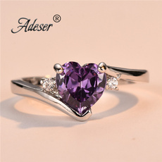 Heart, Crystal, czring, Jewelry