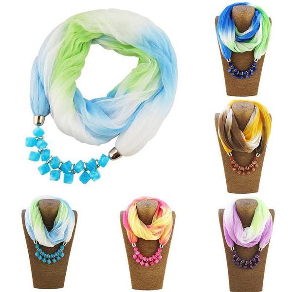 Fashion, Necklace, gradient, Spring