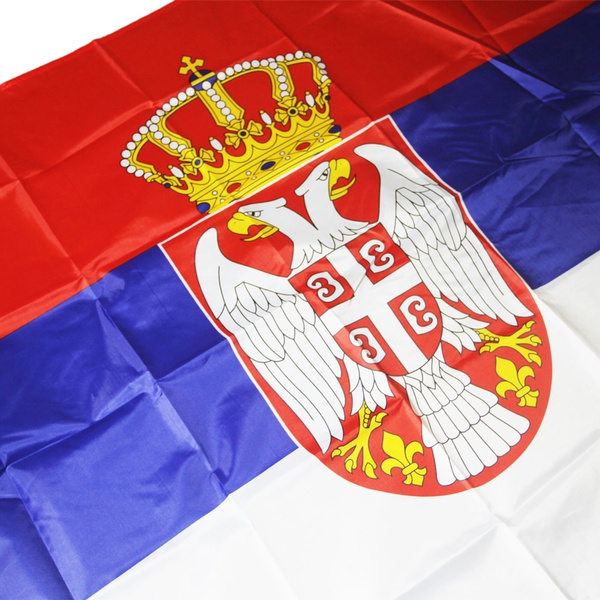 srb, bannar, Polyester, nationalflag