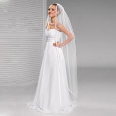 Ivory, weddingveil, bridalfloorveil, Satin