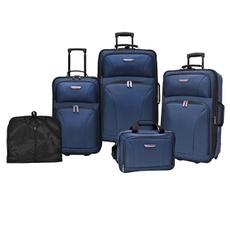 Navy, luggageset, Luggage