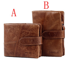 Shorts, leather purse, Coin Wallet, leather