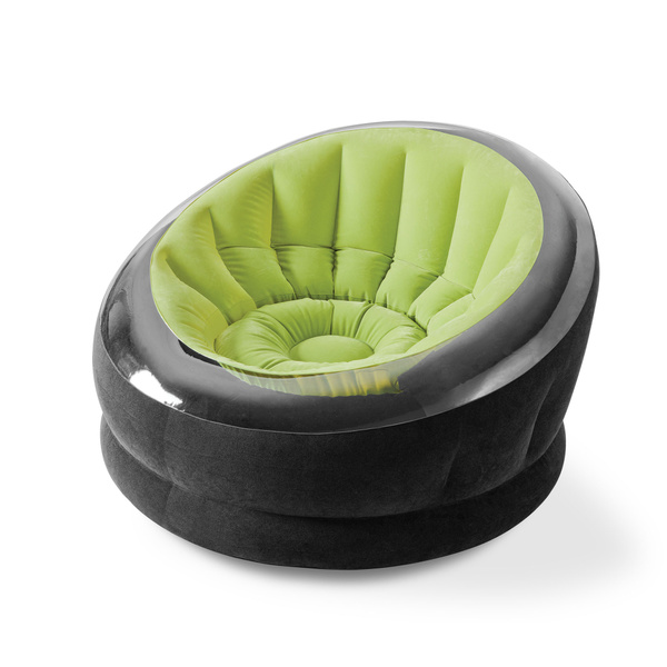 Intex Empire Inflatable Blow Up Lounge Dorm Camping Chair For Adults Lime Green Wish