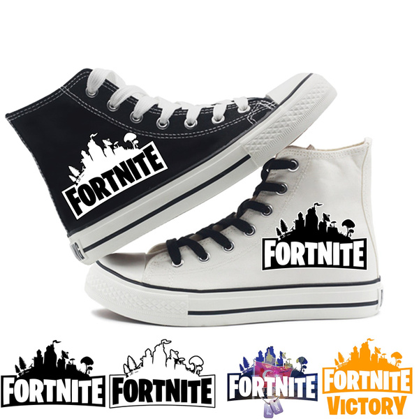 Fortnite Battle Royale Canvas Shoes