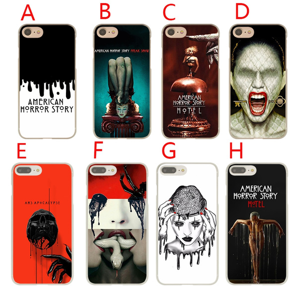 CS86 American Horror Story TV Hard Phone Coque Shell Case for Apple iPhone 7 8 Plus 6 6s 5 5s SE X Cover for iPhone XS Max XR Cases | Wish