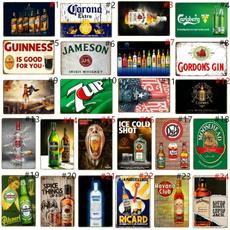 Decor, Bar, Home & Living, Vintage