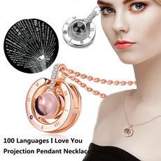 Love, gold, women necklace, Choker