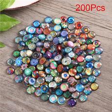 Craft Supplies, durableglasstile, Jewelry, multicolormosaictile