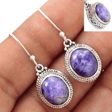 Sterling, DIAMOND, Jewelry, Earring