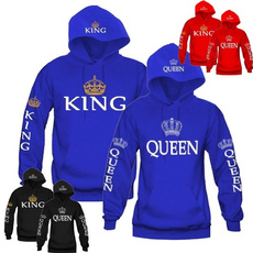 King, hooded, coupleshoodie, coupleshoodedsweatshirt