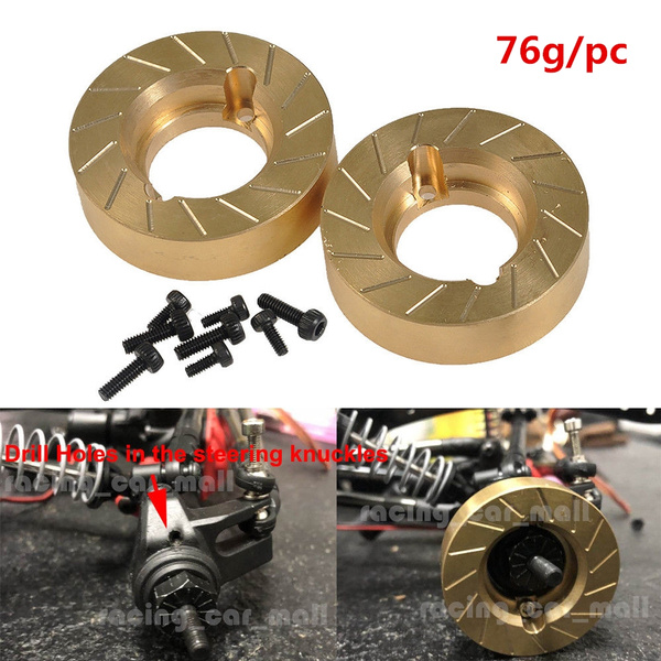 Brass, knuckleweight, rccarpart, rcwheels110