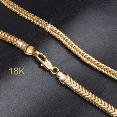 goldplated, Chain Necklace, necklaces for men, Jewelry